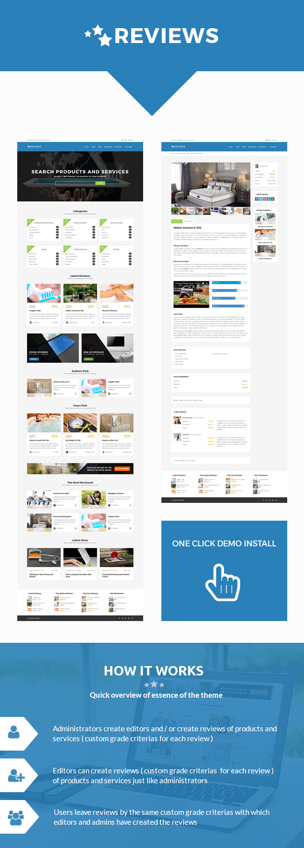Reviews - Products And Services Review WP Theme - 2